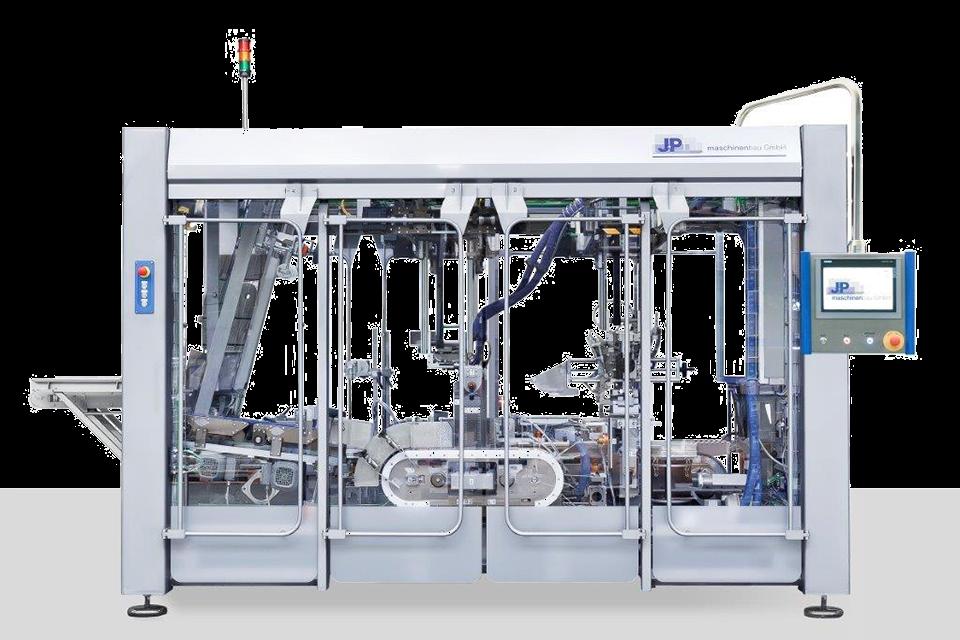 J+P Foto Kompakt-Endverpackungsanlage KWH400-W